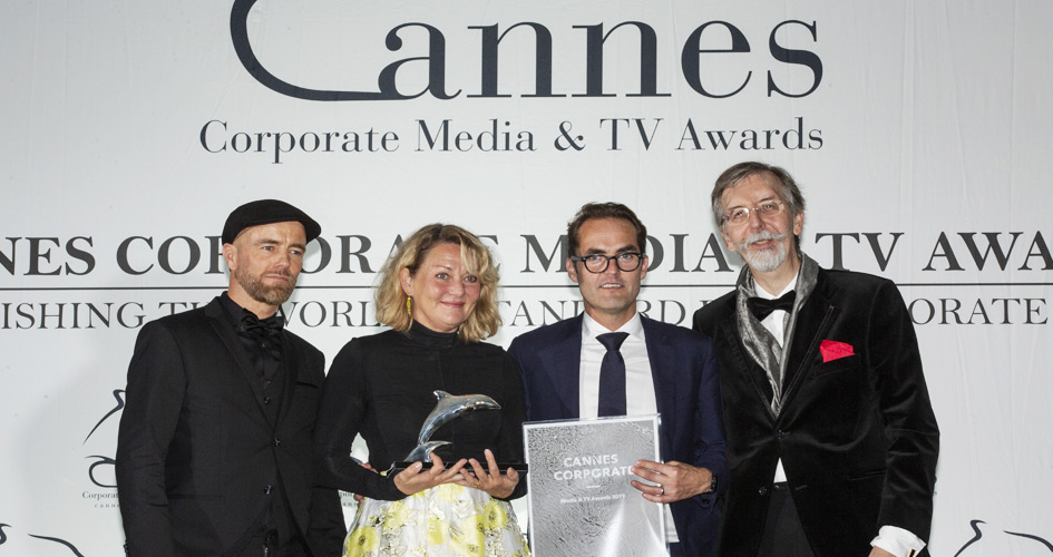 Yara and CFC receiving Cannes film award
