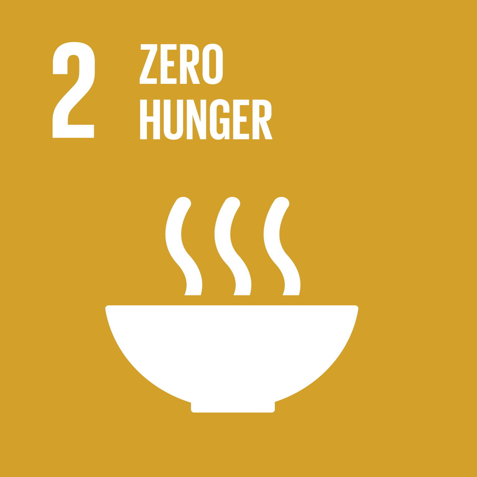 Sustainable Development Goal 2 icon