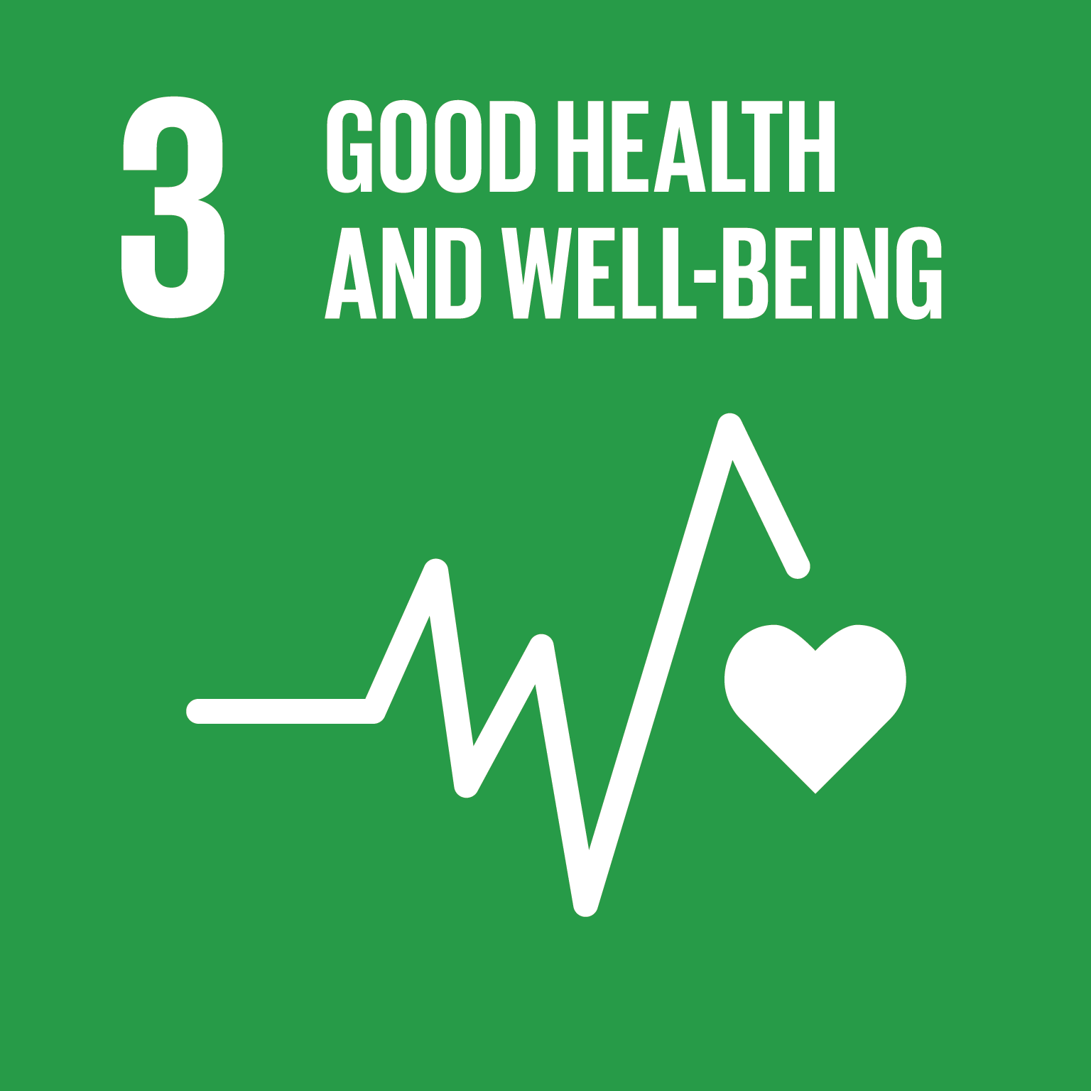 Sustainable Development Goal 3 icon