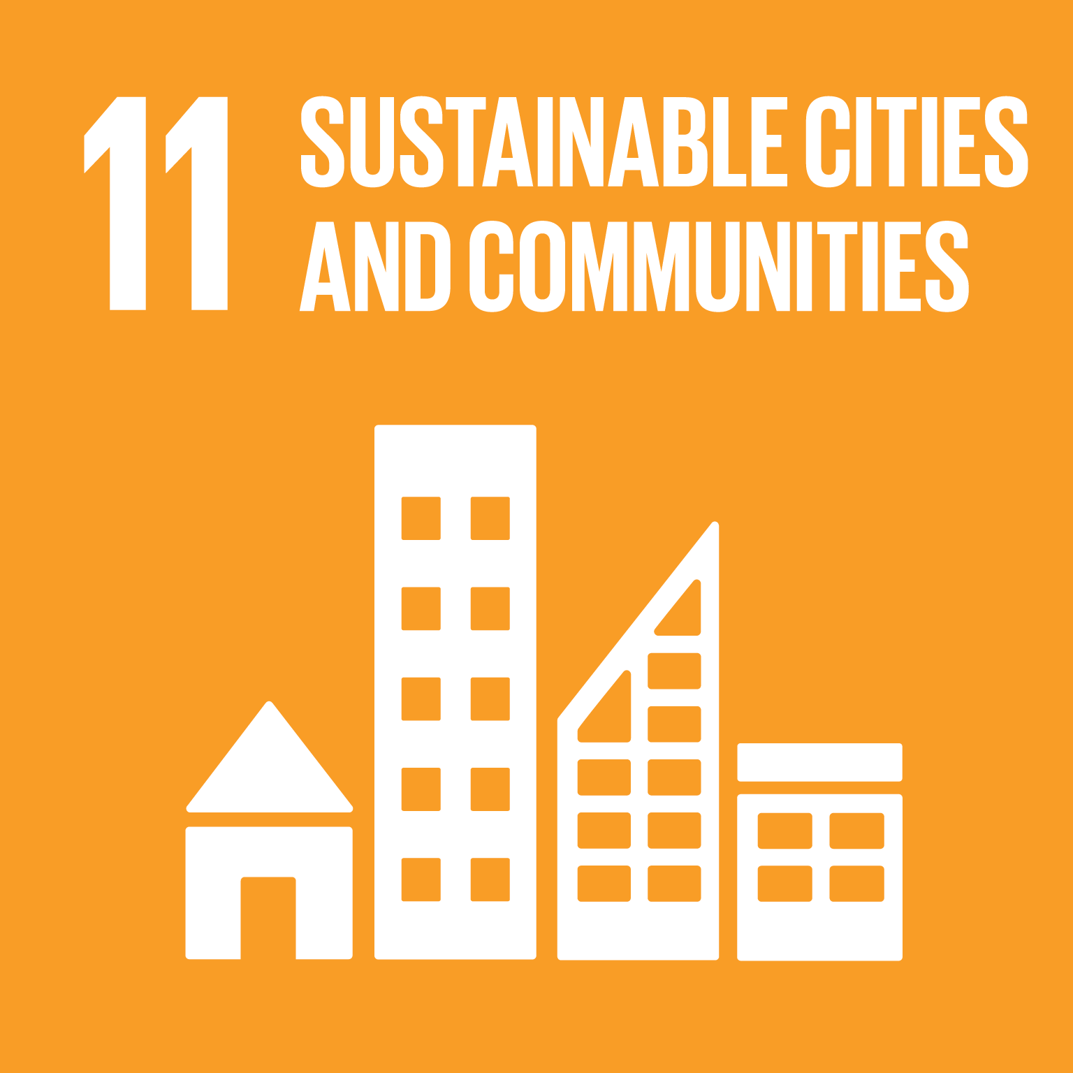 Sustainable Development Goal 11 icon